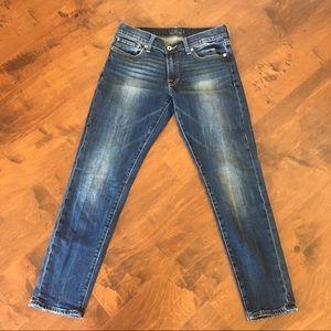 Lucky Brand Sienna Cigarette skinny jeans 26